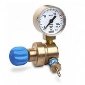 Riduttore di Pressione per Ossigeno con Manometro Kemper 521