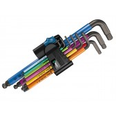 Set Chiavi a L Metriche BlackLaser 950 SPKL/9 SM HF Multicolour Wera