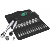 Set chiavi a bussola e inserti con Cricchetti e Cacciavite Kraftform Kompakt Mini 2 Wera