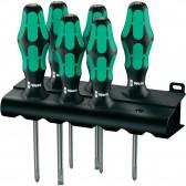 Set Cacciaviti Assortiti 335/350/355/6 Kraftform Plus Lasertip