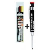 Set matita 3 colori 6 ricambi refil Metrica 51083