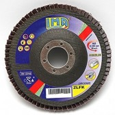 Disco lamellare 10 pz 115 x 22 P120 Zirconio Z120 FIB