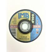 Dischi da taglio per Acciaio Ferro 25 Pz 125 x 3,2 x 22,32 mm Ima serie Gold 1253222F2DT