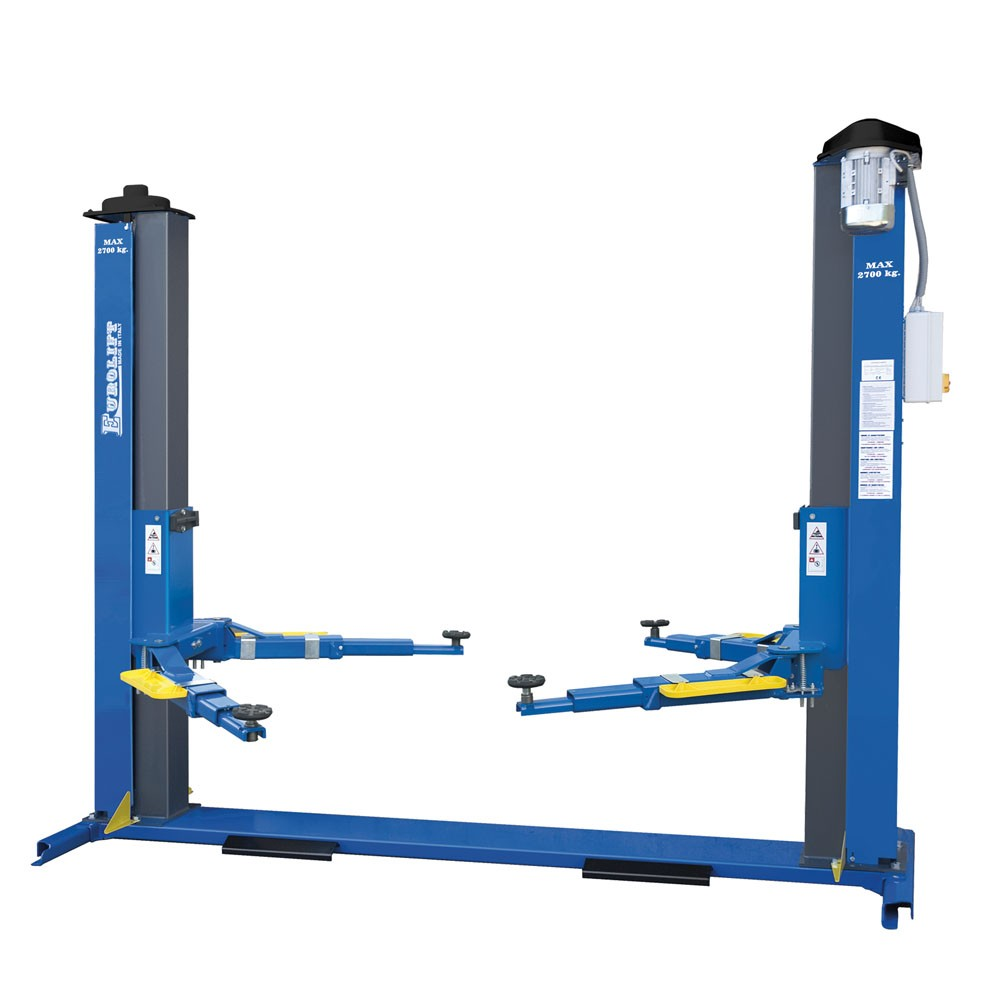 bridge lift electromechanical 2 columns zavagli z41 3s capacity 2700 kg ebay