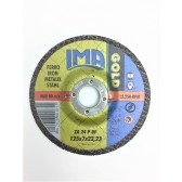 Dischi da sgrosso Ferro 125 x 7 x 22 IMA Gold 10 pz