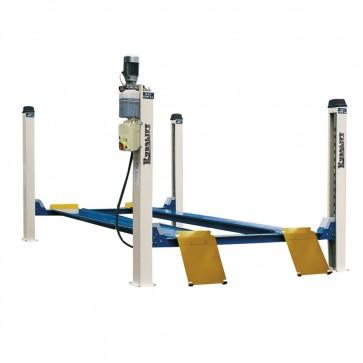 Ponte Sollevatore Per Auto Monofase 4 Colonne Elettroidraulico