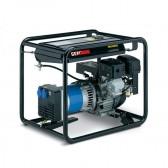 Generatore elettrico portatile avv. elettrico a benzina monofase 5.8 Kw Genmac Combi RG7300HEO