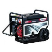 Generatore elettrico semisilenziato Avv. Elet. benzina trifase 4.0 Kw Genmac Combipro G5500HEC**