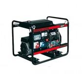 Generatore elettrico portatile Avv. Elet. diesel trifase 4.5Kw Genmac Combiplus G6500YEO**