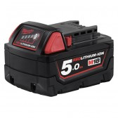 Batteria RedLithium-ion Milwaukee M18B5 18V 5Ah