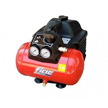 Compressore aria elettrico compatto Fiac EASY 1100 motore 1,5 HP 6 lt
