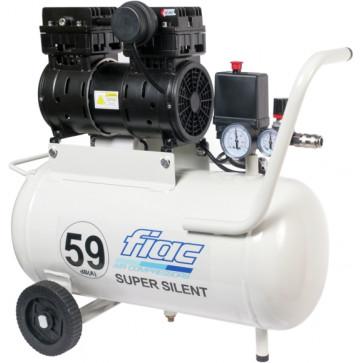 Compressore elettrico oilless silenziato FIAC Super Silent 59 db