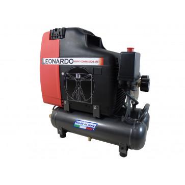 Compressore aria elettrico portatile FIAC Leonardo 1,5 HP Professionale