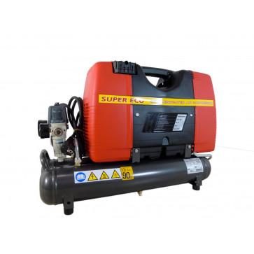 Compressore d'aria elettrico Coassiale FIAC Super Ecu Portatile Professionale 2 HP
