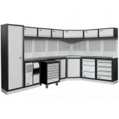 arredamento modulare per officina Fervi modello a008h ideale anche per garage e angoli fai da te