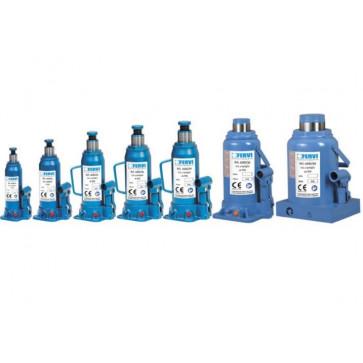 Cric idraulico a bottiglia Fervi 0062/10 Portata 10 tonnellate