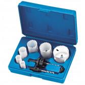 Kit idraulico seghe a tazza Fervi 0712/008 Confezione da 9 pezzi