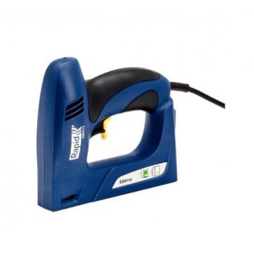 Graffatrice elettrica Rapid ESN114 per graffe piatte