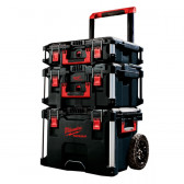 Trolley Porta Attrezzi MILWAUKEE PACKOUT 3 Pz