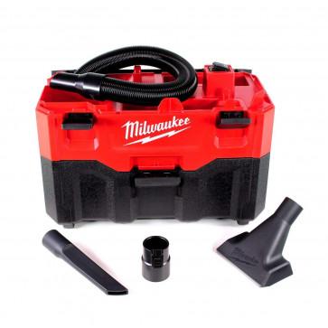 Aspiratore a Batteria MILWAUKEE M18VC2-0 Solidi e Liquidi