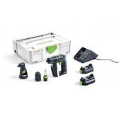 Trapano Avvitatore a batteria FESTOOL CXS Li 2,6-Set