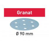 Disco abrasivo FESTOOL Granat STF D90/6 P80 GR/50