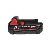Batteria 18 V 2,0 Ah MILWAUKEE Redlithium-ion M18 B2