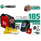 KIT COMBO SALDATRICE INVERTER FOX 185 HELVI FLEX LINE 115/230 V