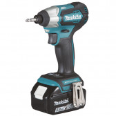 AVVITATORE A IMPULSI A BATTERIA DTD155RTJ 18 V MAKITA 1/4 140 NM BRUSHLESS
