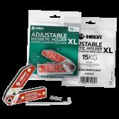 SUPPORTO MAGNETICO REGOLABILE XL 15 KG