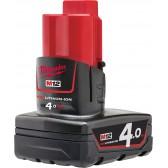Batteria RedLithium-ion M12B4 Milwaukee 12V 4Ah