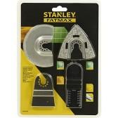 Kit 4 Lame per Utensile Multifunzione Stanley FatMax