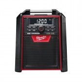Radio AM FM Bluetooth + Jack e USB Milwaukee M18 RC-0
