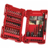 Set Avvitatura e Foratura SHOCKWAVE Milwaukee 40 pz