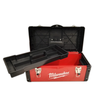 Cassetta porta attrezzi tool box milwaukee 4933416535 - Box porta attrezzi ...