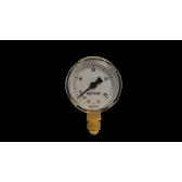 Manometro  Acetylene Alta Pressione Mujelli D.50 40 bar