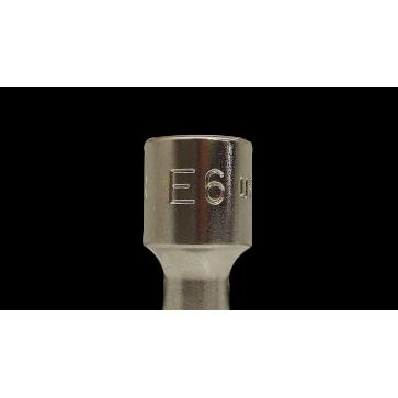 """Chiave a Bussola Torx Usag 235 1/4"""" TX/E 6"""