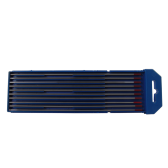 Confezione 10 elettrodi tungsteno + torio 2% rosso WT20 Iceb 2,4 mm x 175 mm