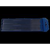 Confezione 10 elettrodi tungsteno + lantanio 2% blu WL20 Iceb 2,4 mm x 175 mm
