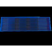 Confezione 10 elettrodi tungsteno + torio 2% rosso  WT20 Iceb 2,0 mm x 175 mm
