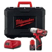 Avvitatore ad Impulsi M12 BID-202C Milwaukee 12V 2x2.0 Ah