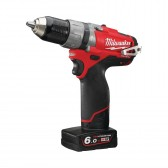 Trapano Avvitatore a Percussione Milwaukee M12 CPD-602X 12 V 6.0 AH