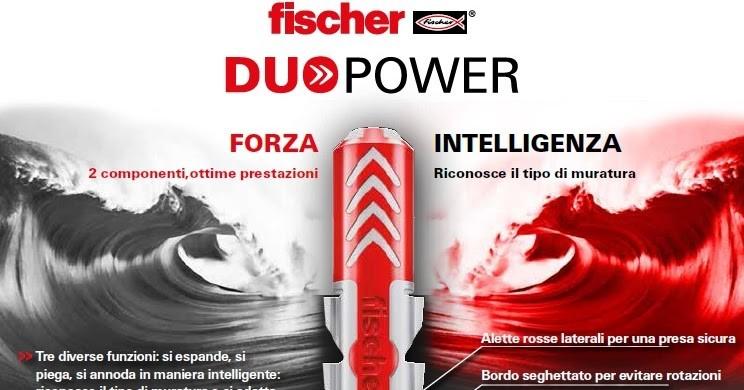 Tasselli schiume Fischer per uso professionale