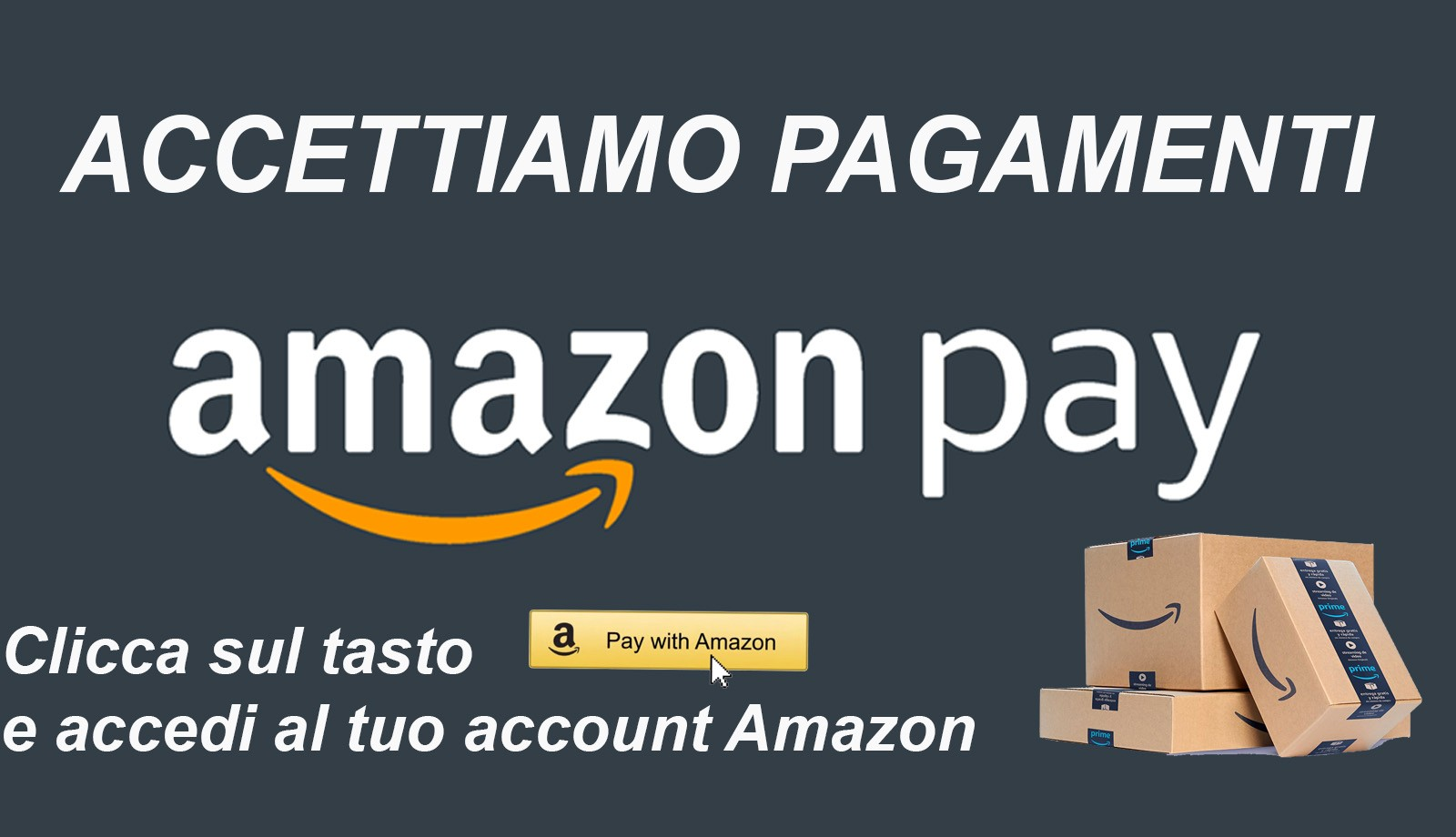 Pagamento con Amazon Pay